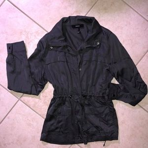 Forever 21 lightweight gray jacket